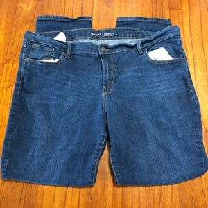 Old Navy original mid-rise straight leg jeans